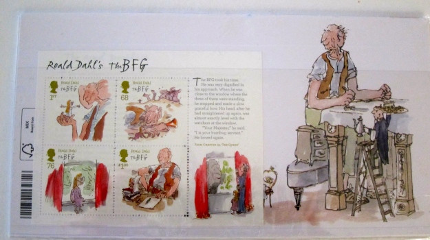 Roald Dahl (with Quentin Blake) (back)