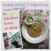 RAJIA'S PERFECT PARATHAS by lakshmilovestoshop