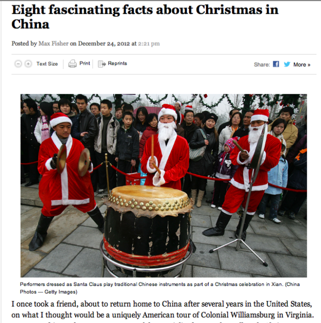 Shopping, Karaoke and apple: Christmas in China