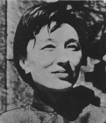 HAN Suyin, image from The Hindu