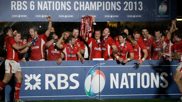 The Six Nations: Wales thrashed England: 30: 3 (BBC picture)