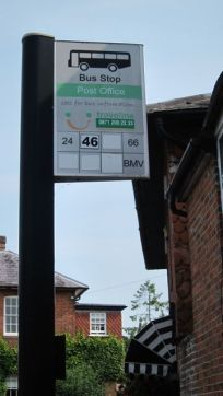 post office bus stop