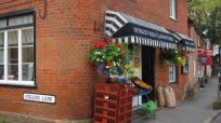 next to a butcher