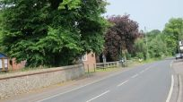 post office on this pleasant, leafy village