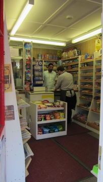 serving customer