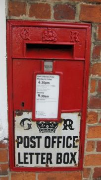 letter box on the war
