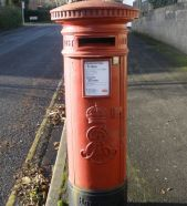 Edward VII post box