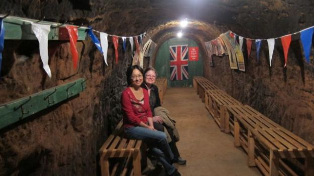 Inside Air Raid Shelters with Tilly