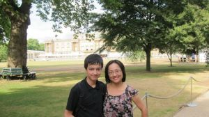 Ben and Janet at Buckingham Palace