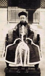 Pu Yi, the last emperor of China.