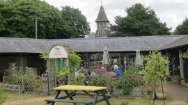 More than just food: Ewe and I tearoom in Andover Fairground, England
