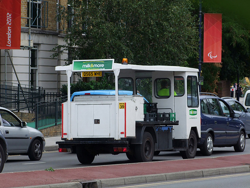 Milk Float in the UK