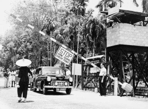 The Malayan Emergency 1948 - 1960. Image via Imperial War Museum © IWM (K 14435)