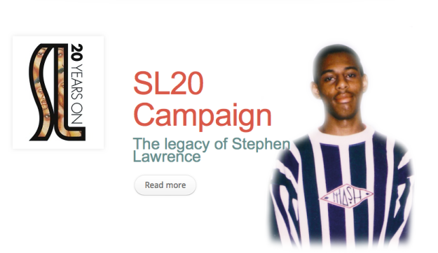 Remember Stephen Lawrence: 20 years on