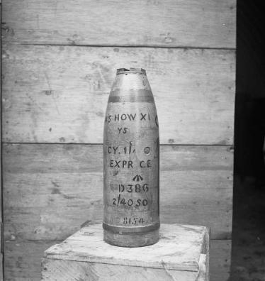 4.5 Howitzer Shell © IWM (H 29839)
