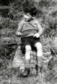 Bernard Stogden was orphaned when he was about 6 years old.
