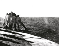 Sergeant Harry Stogden died of Beri-Beri on board the USS HAVEN and was buried at sea. (Image credit: Bernard Stogden)