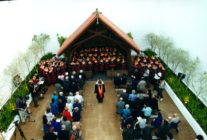 Memorial Service at Changi in Singapore in 2001.