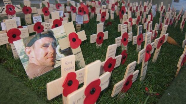 In Southampton:  Remembrance Sunday