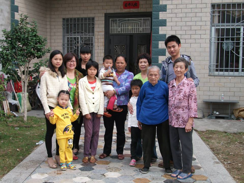 Chinese family at big house janet 39 s notebook for Big family house
