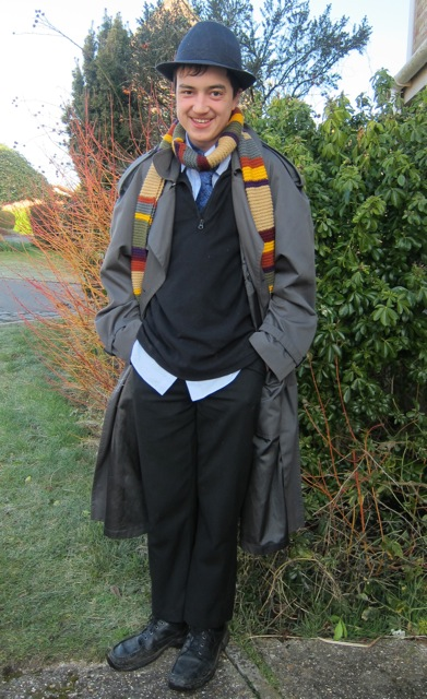 Dressing up as a Doctor on World Boo Day 2015